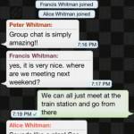 WhatsApp skupinový hovor