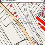 iKatastr mapa ulice