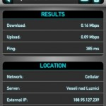 Speedtest detail testu