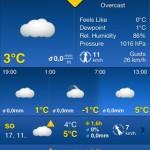 Weather Pro - aktuálně