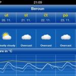 Weather Pro - graf